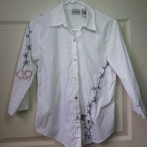 Chico's bottons Down Shirt
